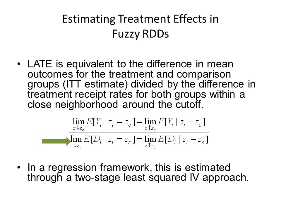 Estimating Treatment Effects in Fuzzy RDDs