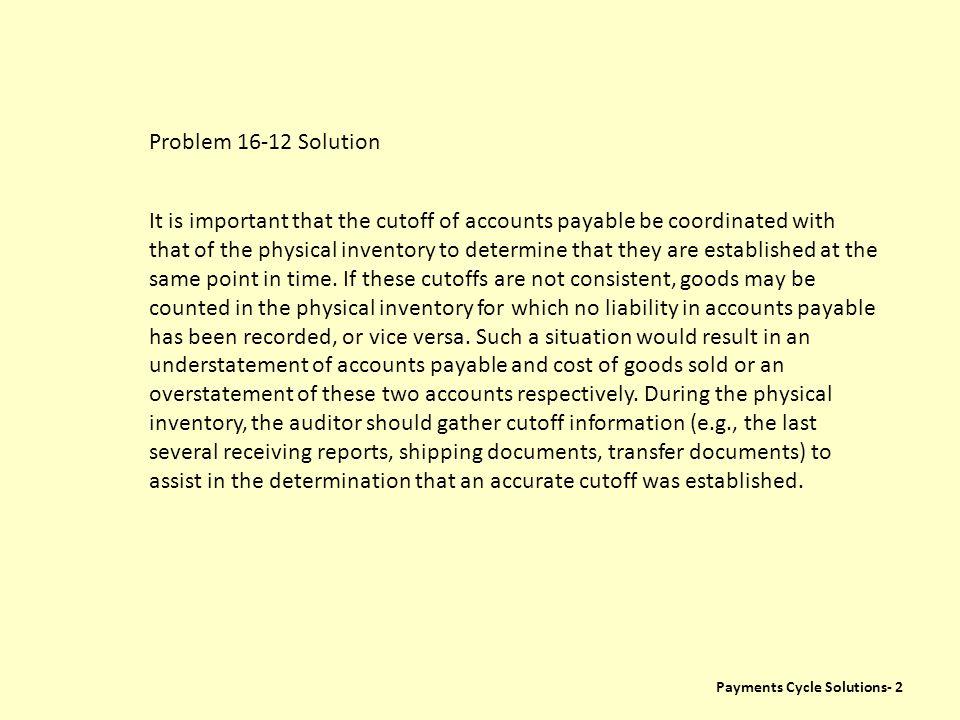 Problem 16-12 Solution