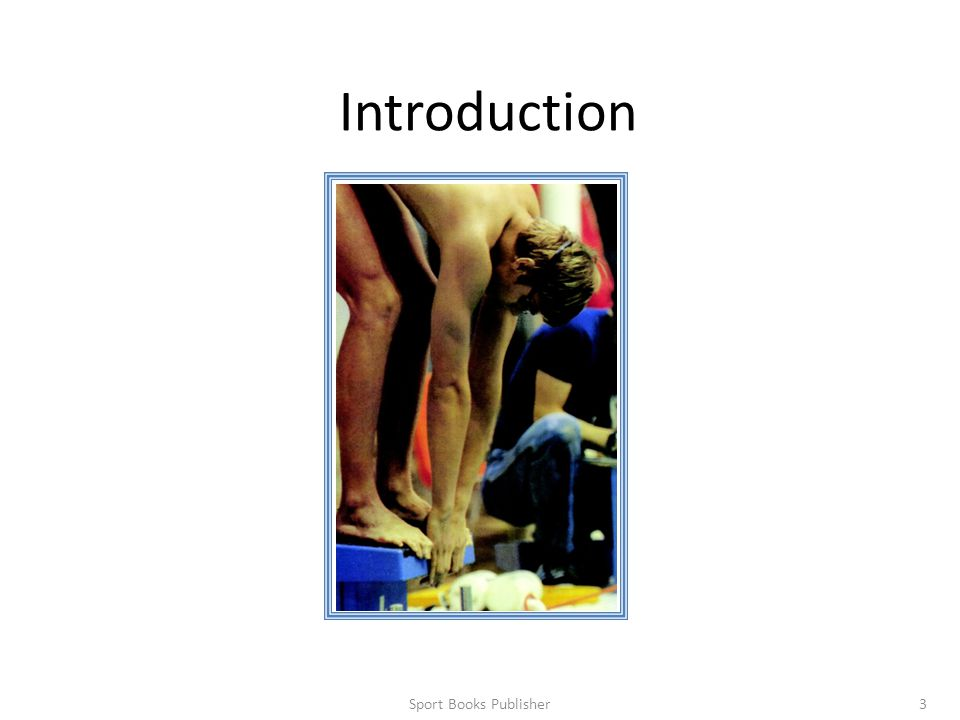Introduction Sport Books Publisher