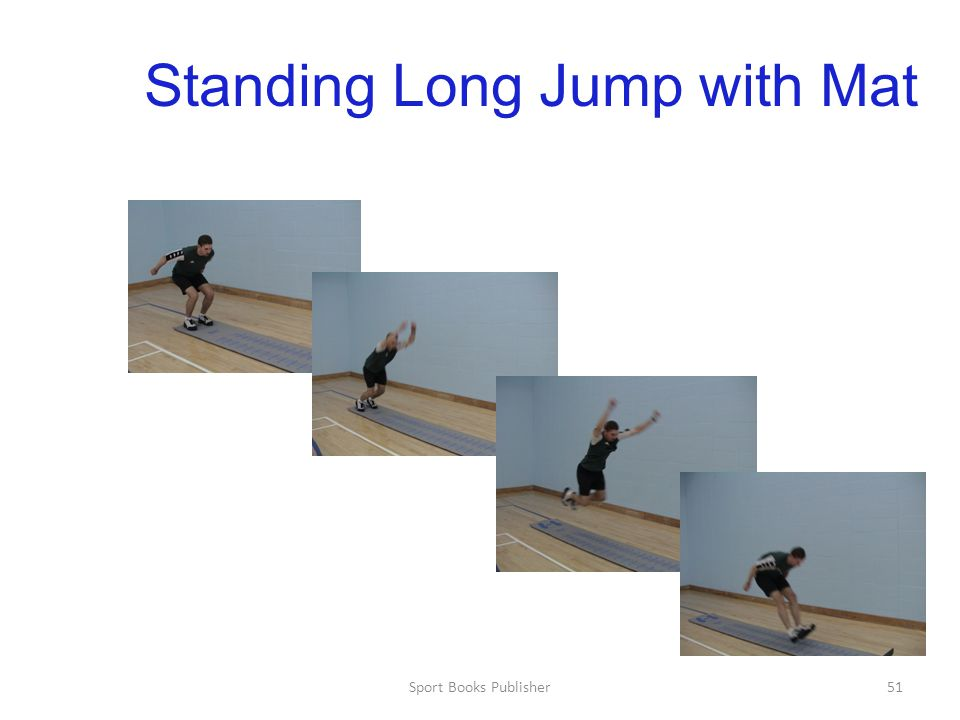 Standing Long Jump with Mat