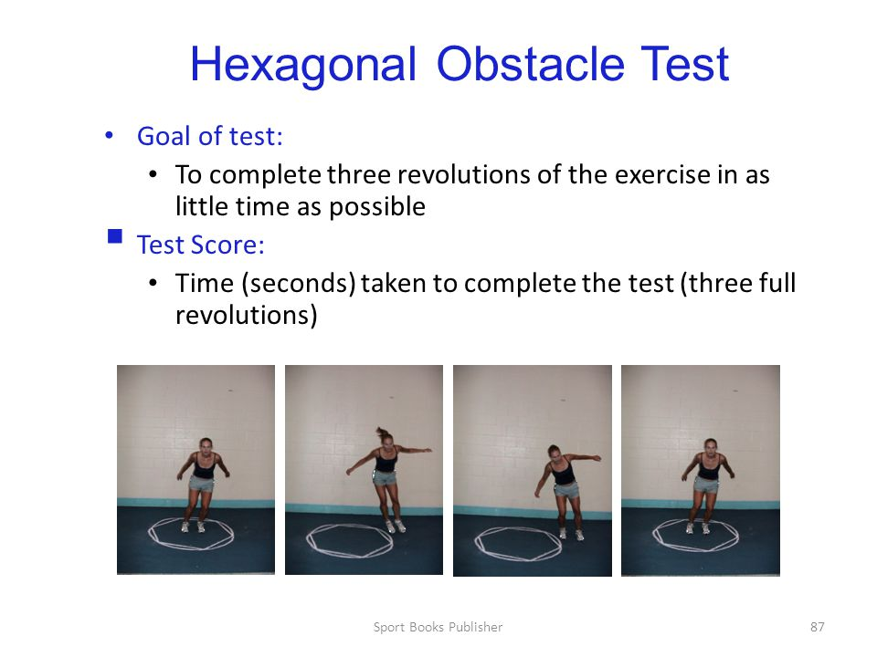 Hexagonal Obstacle Test