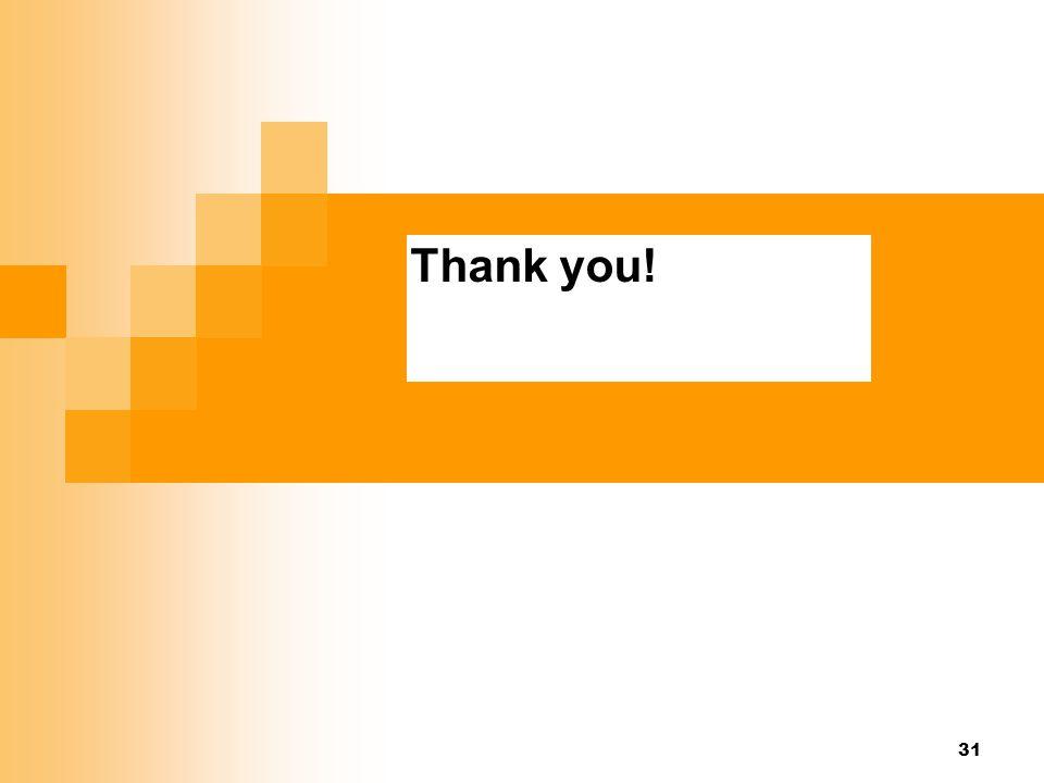 Thank you! Thank you! 25
