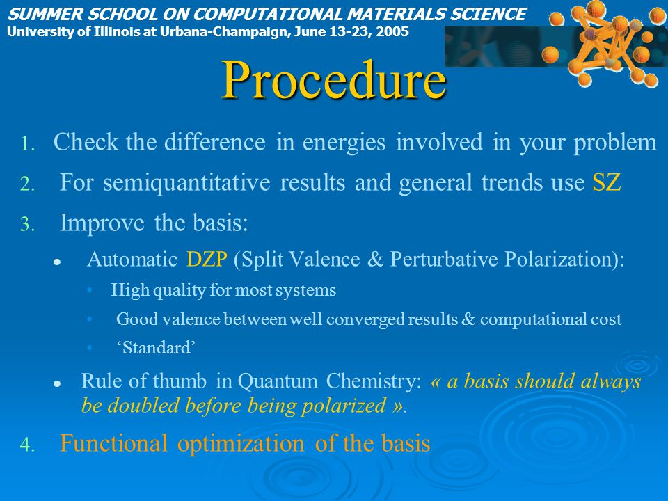 Procedure Check the difference in energies involved in your problem