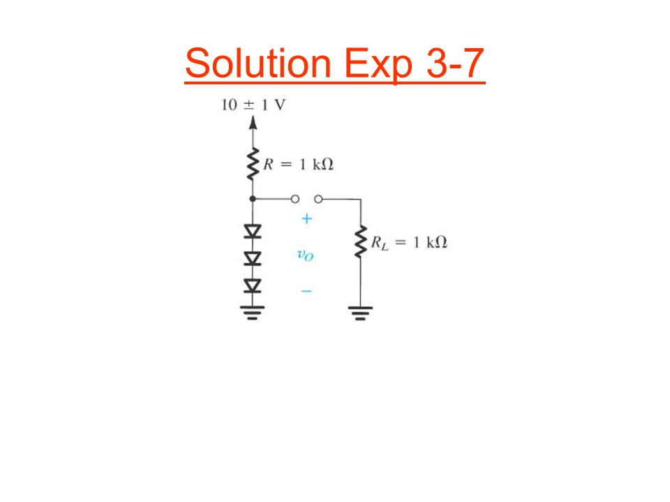 Solution Exp 3-7