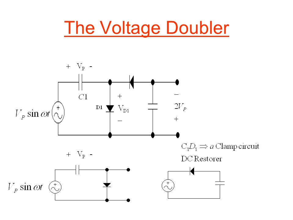 The Voltage Doubler