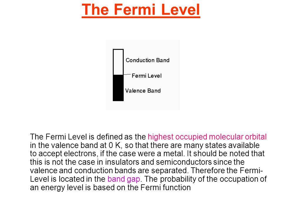 The Fermi Level
