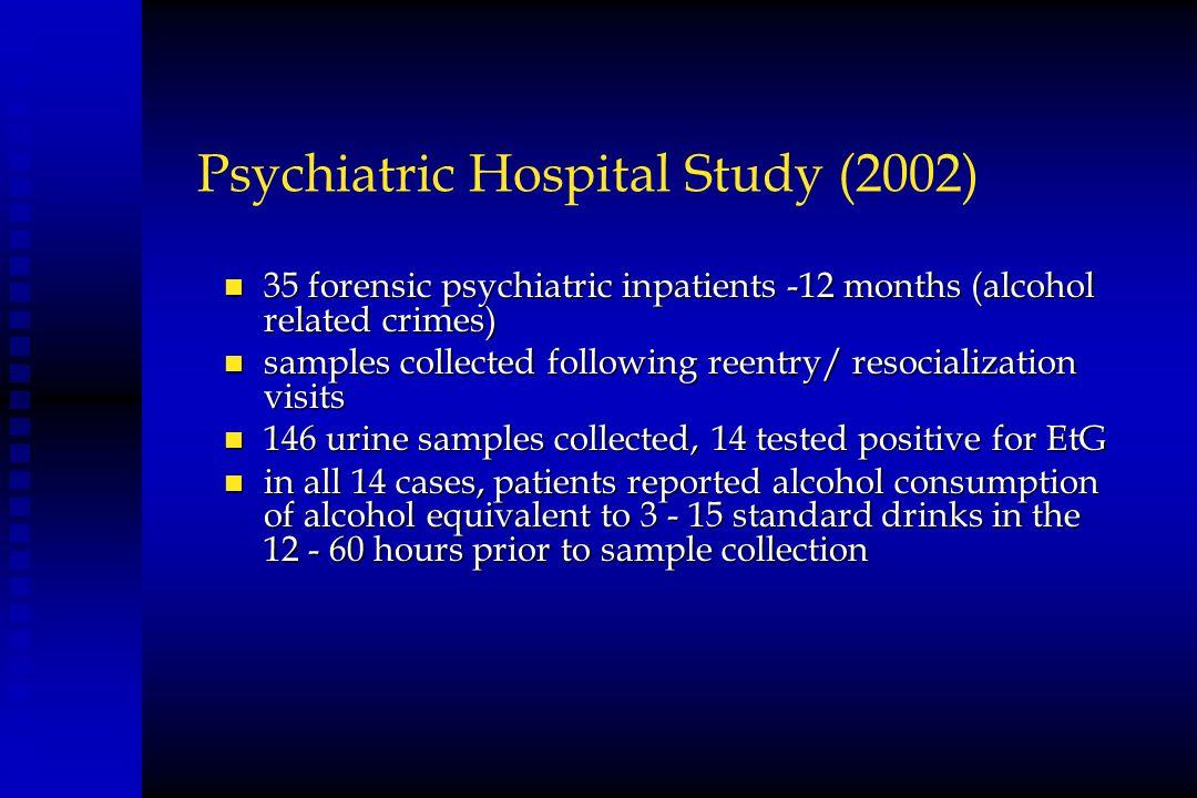 Psychiatric Hospital Study (2002)