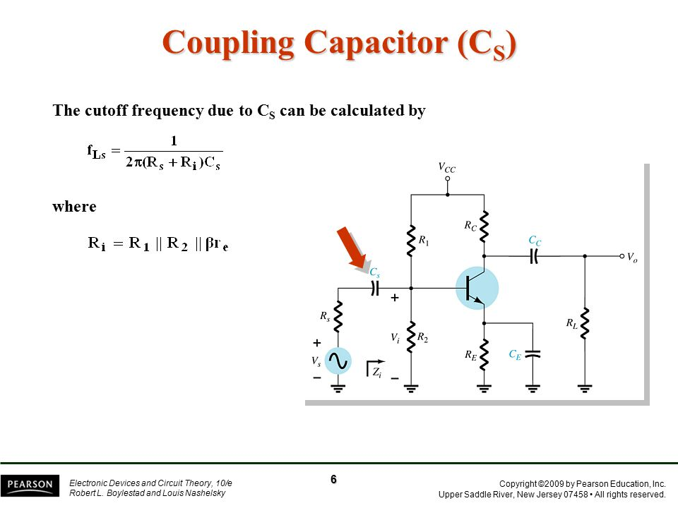 Coupling Capacitor (CS)