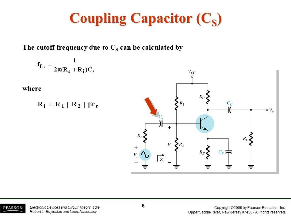 Coupling Capacitor (CS)