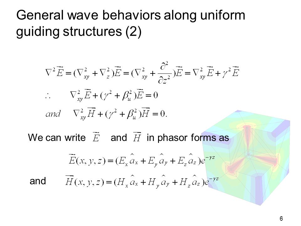 General wave behaviors along uniform guiding structures (2)