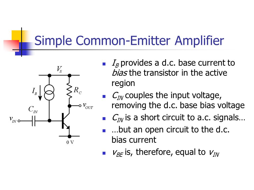 Simple Common-Emitter Amplifier