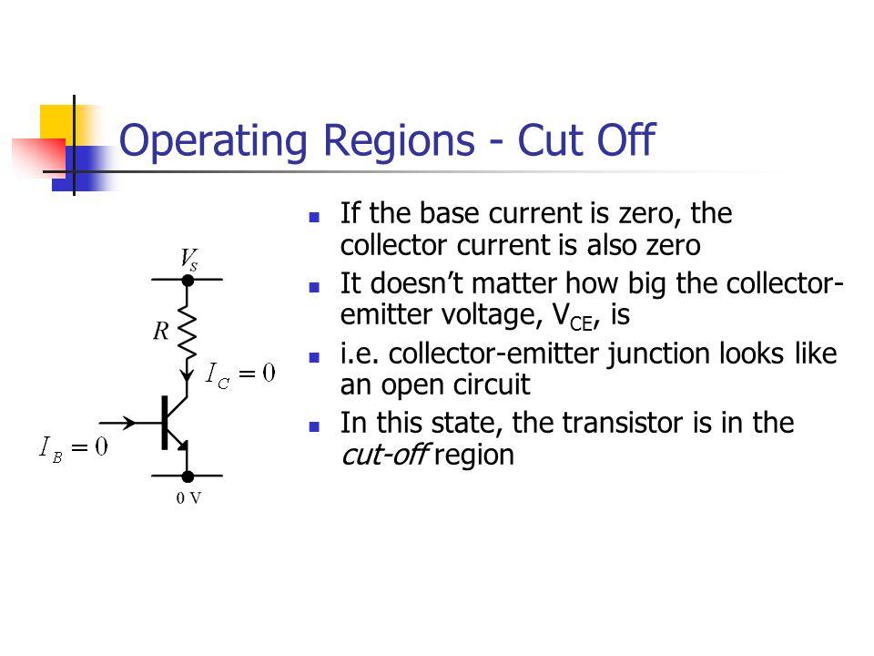 Operating Regions - Cut Off