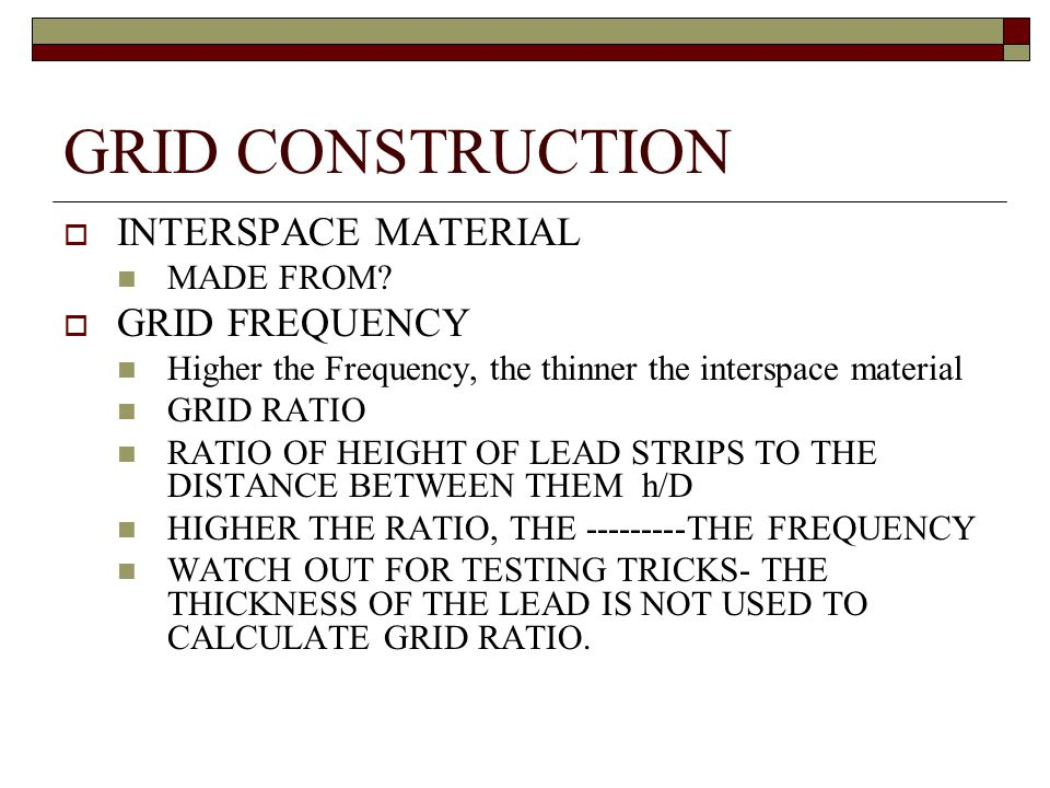 GRID CONSTRUCTION INTERSPACE MATERIAL GRID FREQUENCY MADE FROM