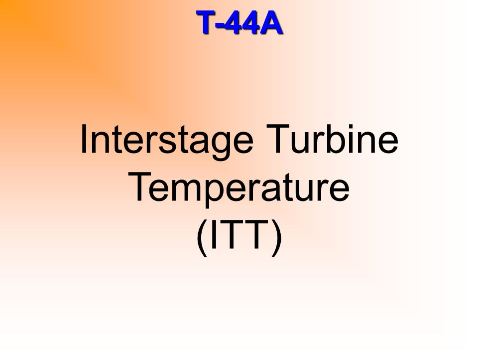 Interstage Turbine Temperature (ITT)