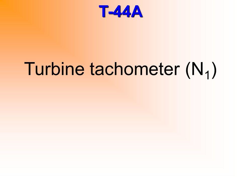 Turbine tachometer (N1)