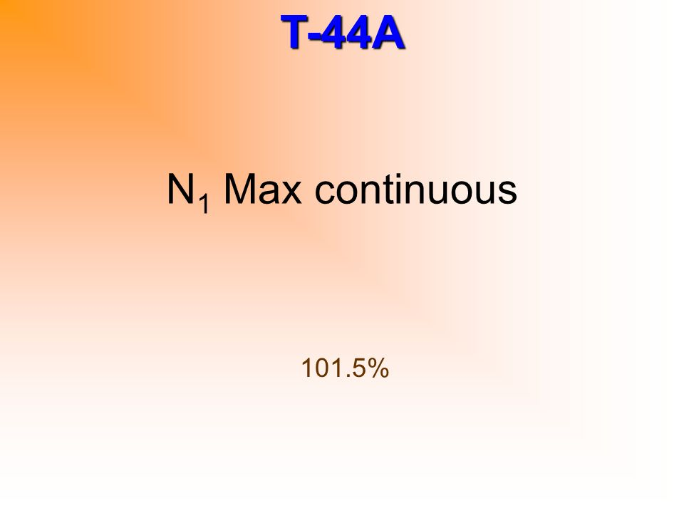 N1 Max continuous 101.5%