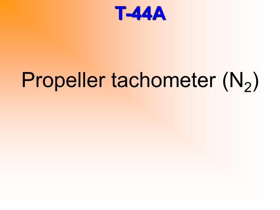 Propeller tachometer (N2)