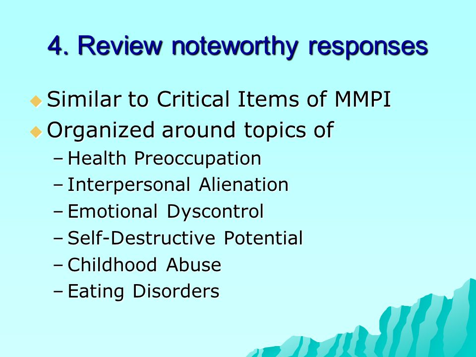 4. Review noteworthy responses