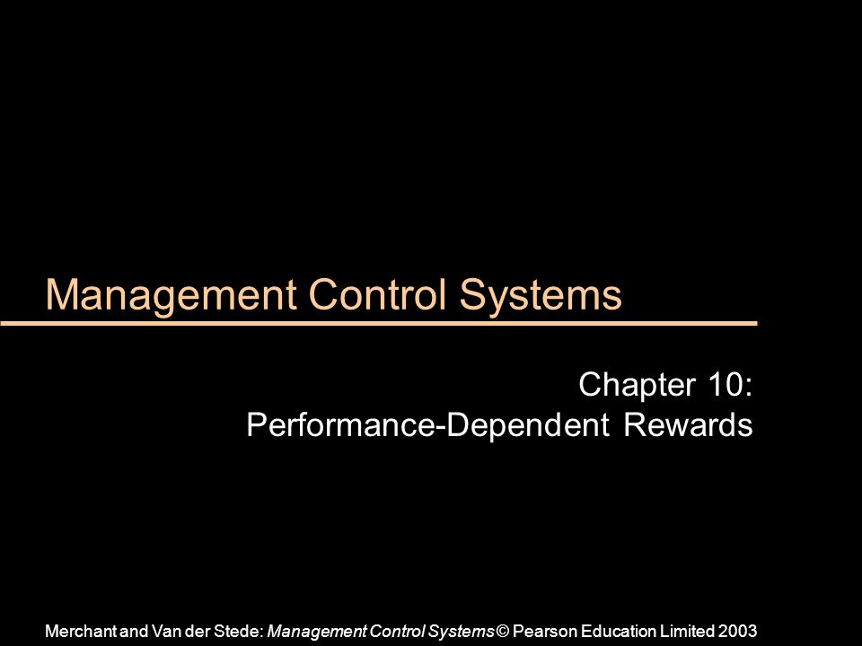 What are Management Control Systems (MCS)?