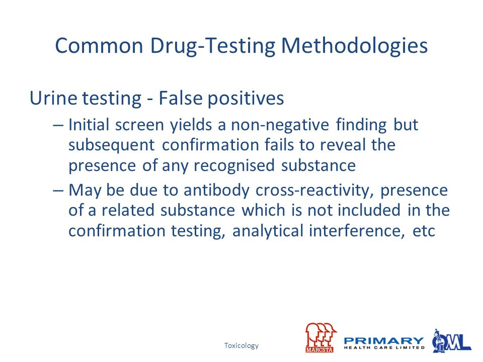 Common Drug-Testing Methodologies