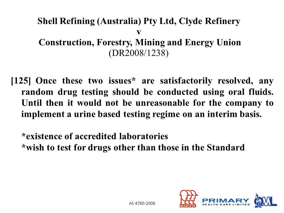 Shell Refining (Australia) Pty Ltd, Clyde Refinery