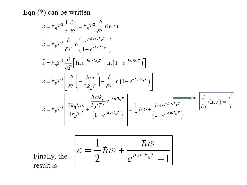 Eqn (*) can be written Finally, the result is