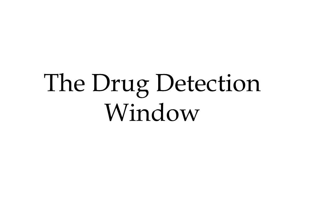 The Drug Detection Window