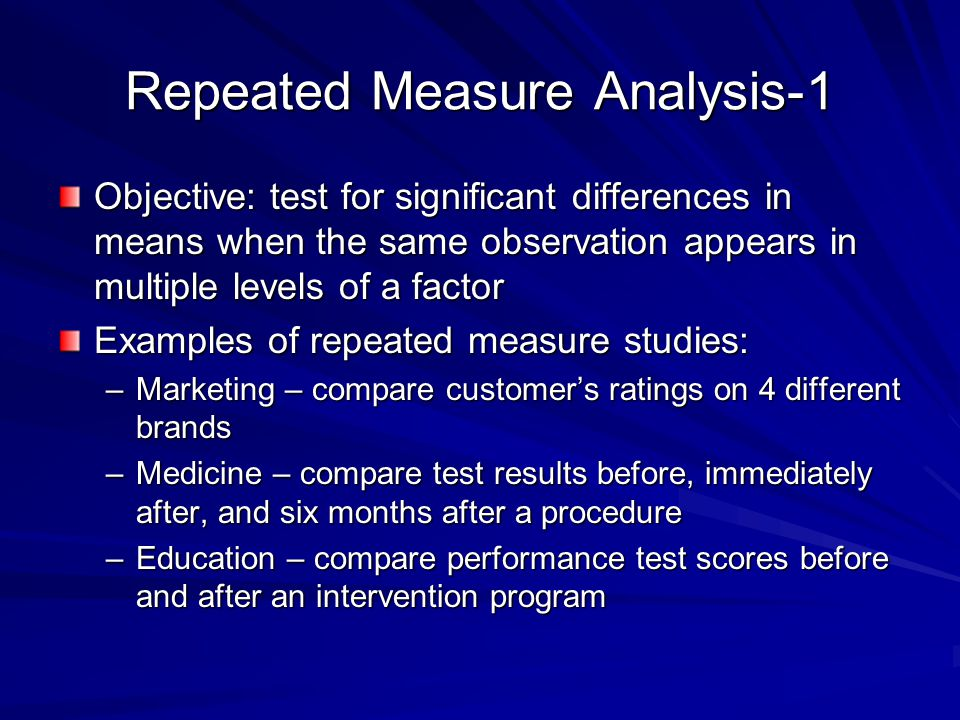 Repeated Measure Analysis-1