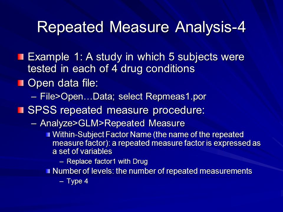Repeated Measure Analysis-4