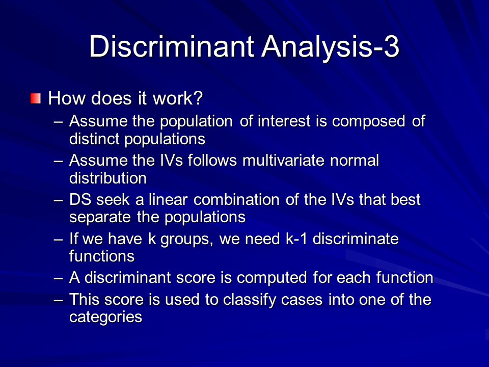 Discriminant Analysis-3