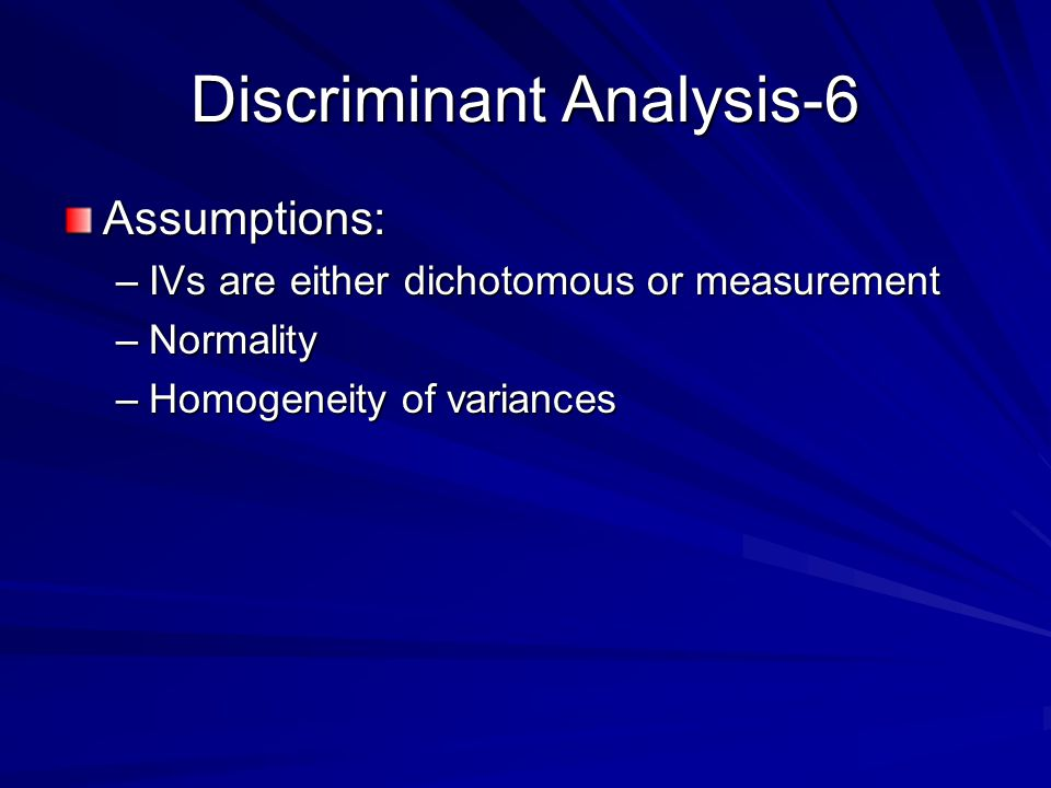 Discriminant Analysis-6