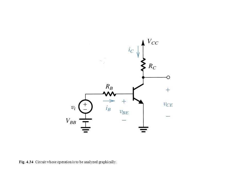 Fig. 4.34 Circuit whose operation is to be analyzed graphically.