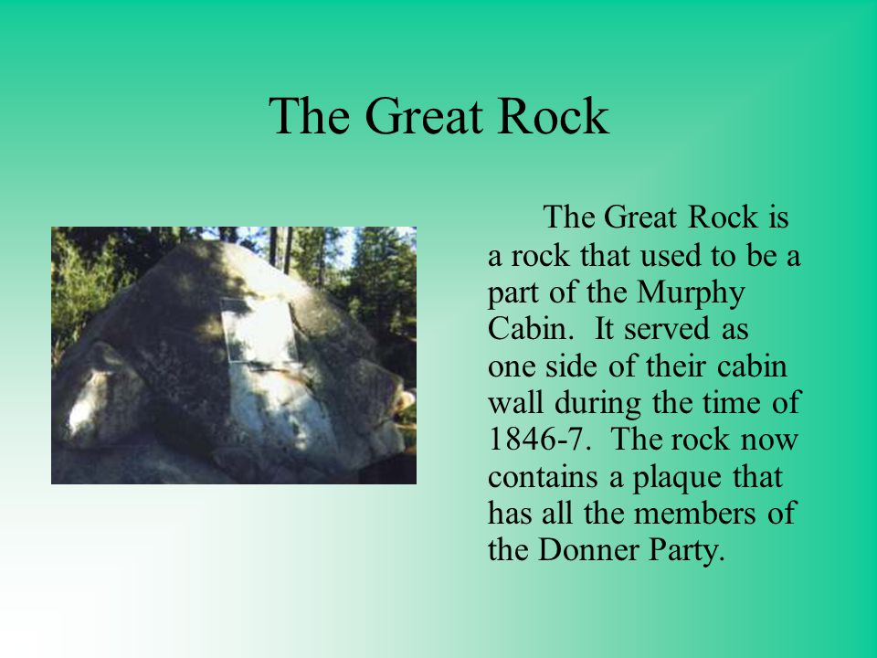The Great Rock