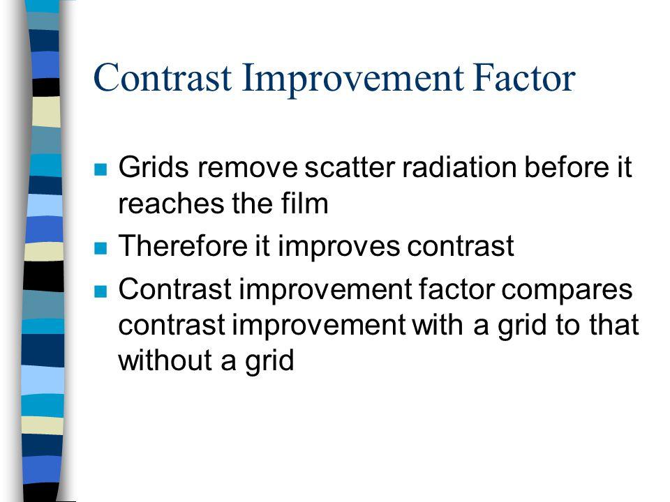 Contrast Improvement Factor