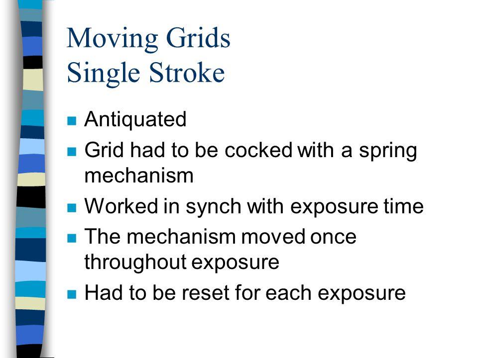 Moving Grids Single Stroke