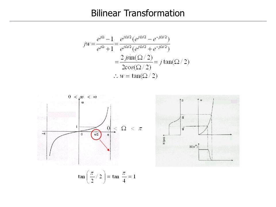 Bilinear Transformation