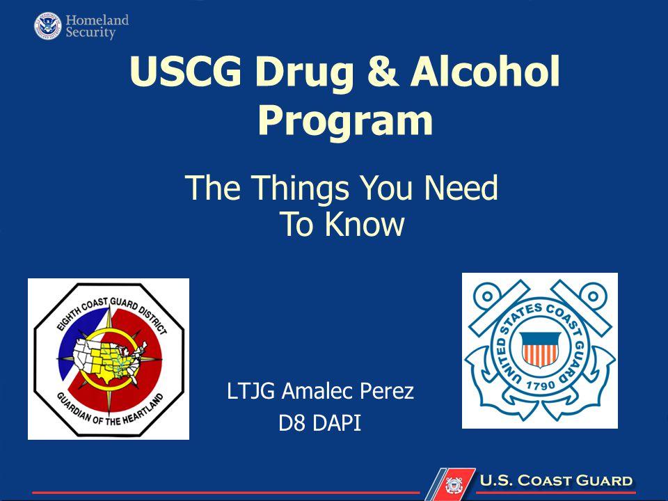 USCG Drug & Alcohol Program