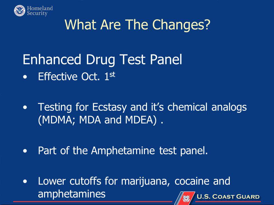 Enhanced Drug Test Panel