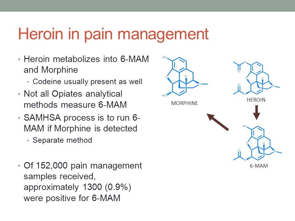 Heroin in pain management