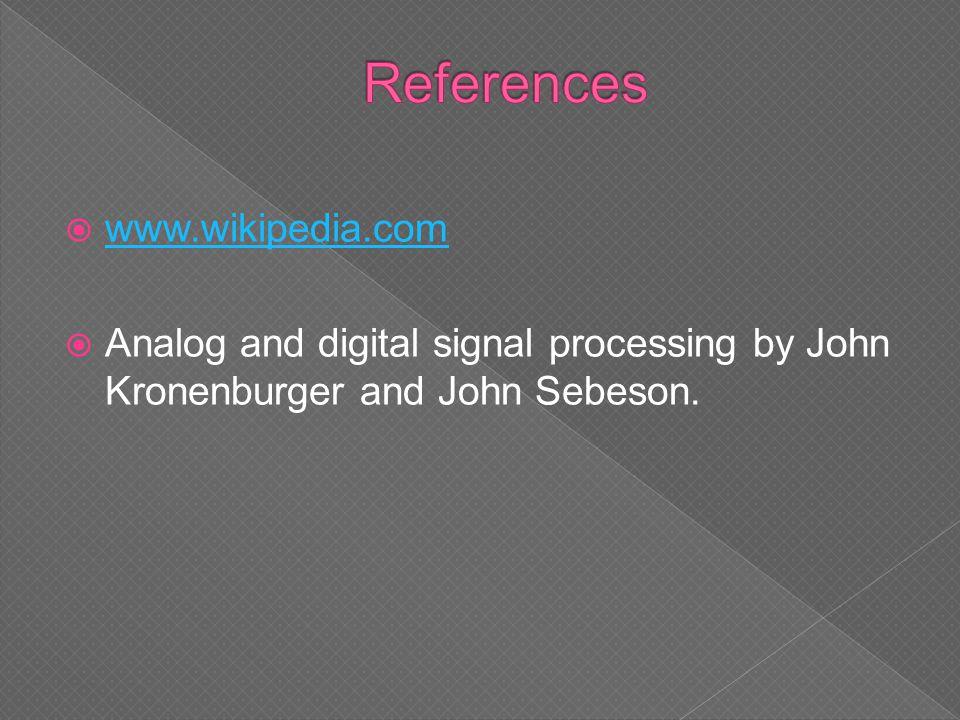 References www.wikipedia.com