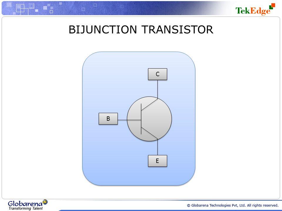 BIJUNCTION TRANSISTOR