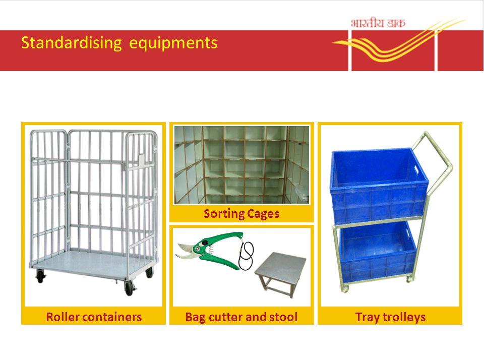 Standardising equipments