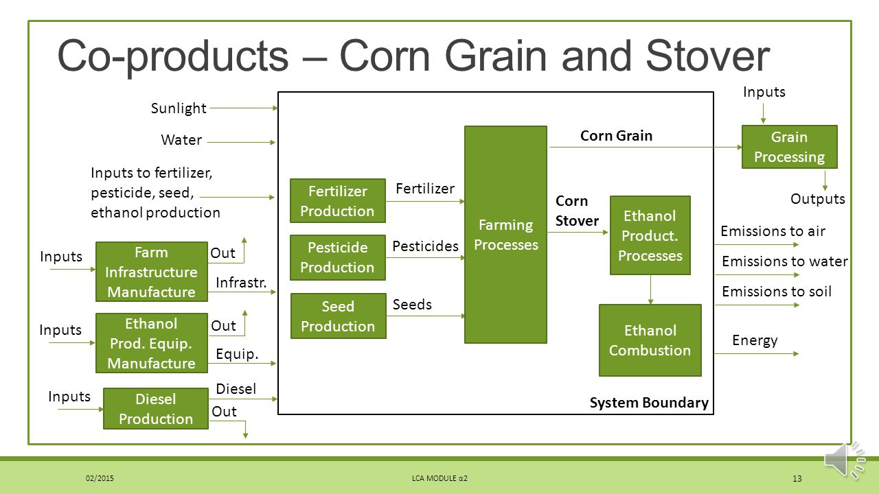 Co-products – Corn Grain and Stover
