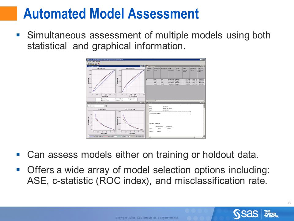 Automated Model Assessment