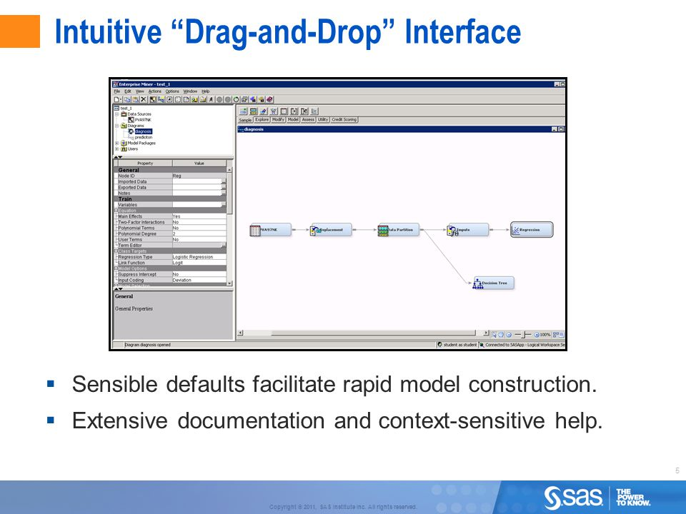 Intuitive Drag-and-Drop Interface