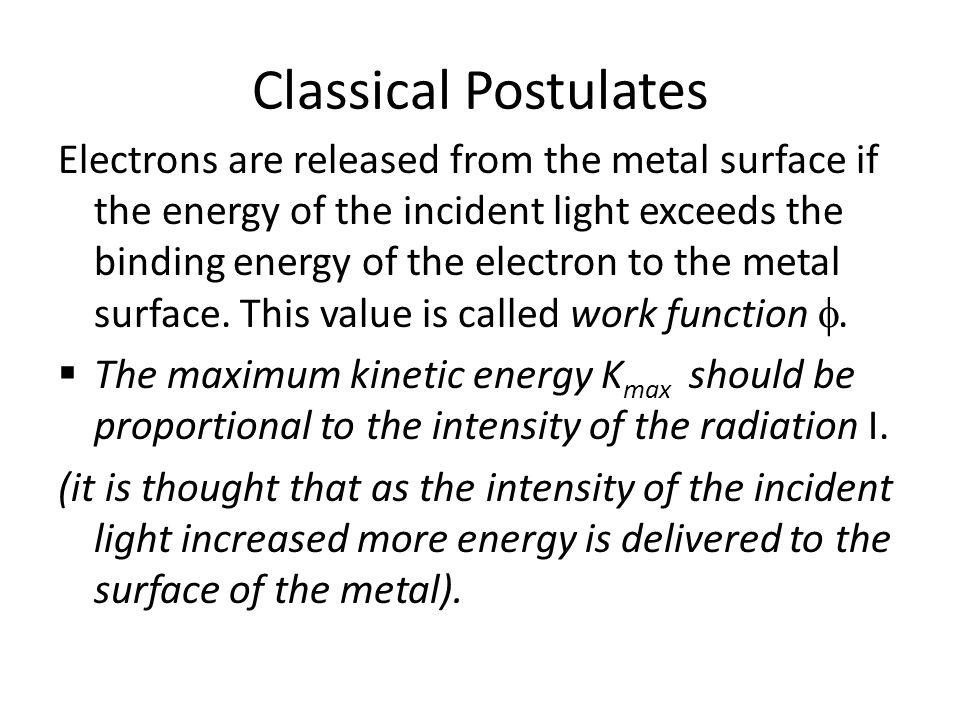 Classical Postulates