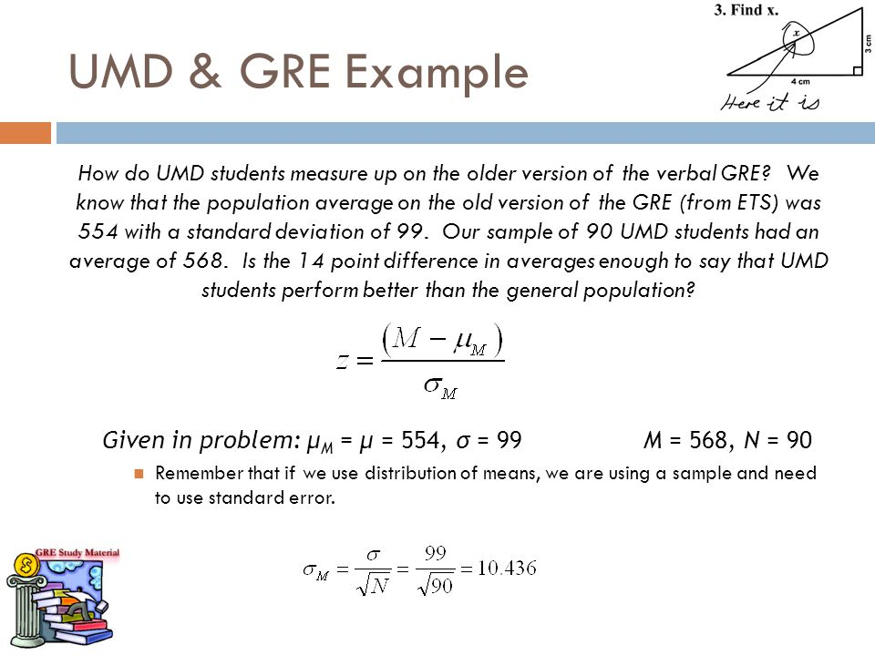 UMD & GRE Example