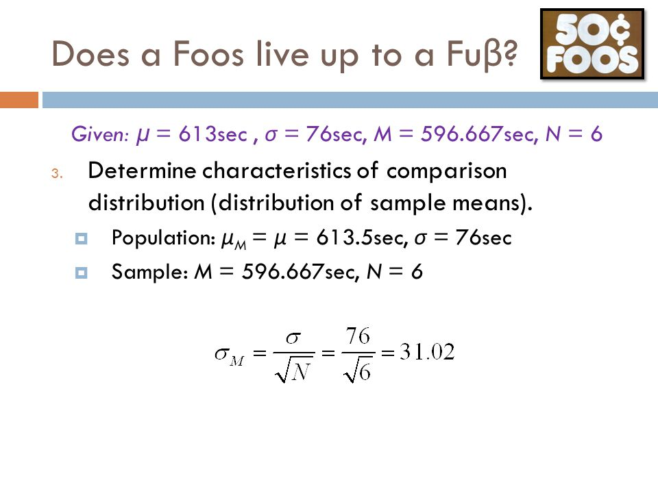 Does a Foos live up to a Fuβ