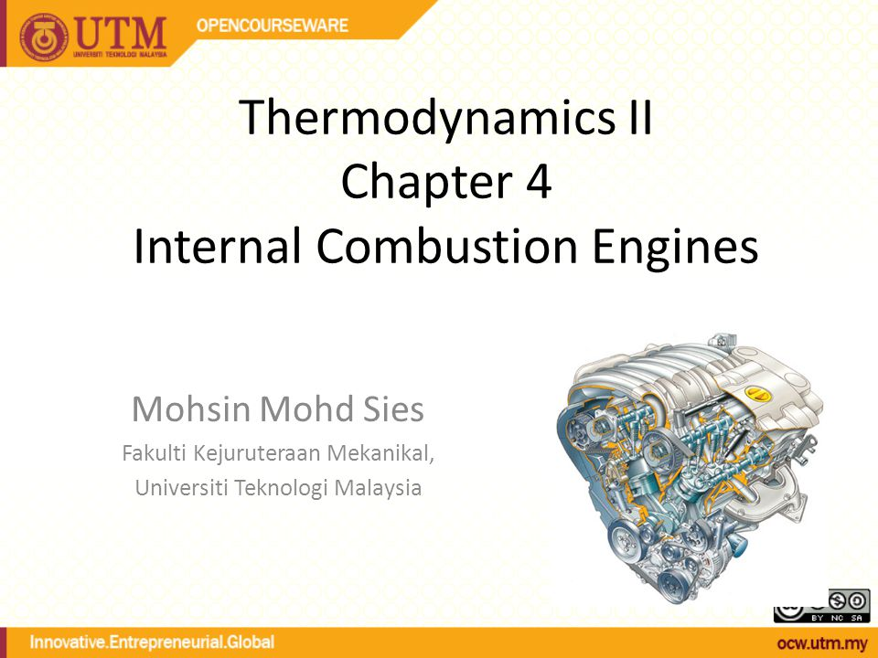 Thermodynamics II Chapter 4 Internal Combustion Engines