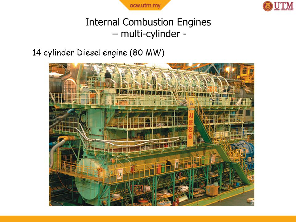Internal Combustion Engines – multi-cylinder -